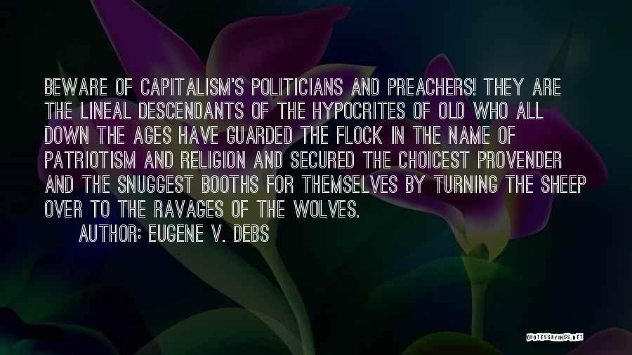 Eugene V. Debs Quotes 829646