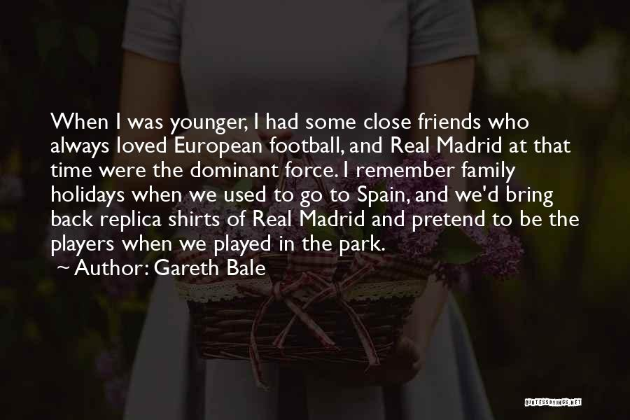 European Football Quotes By Gareth Bale