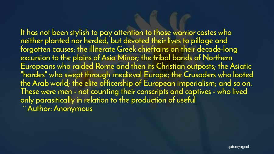 European Imperialism Quotes By Anonymous