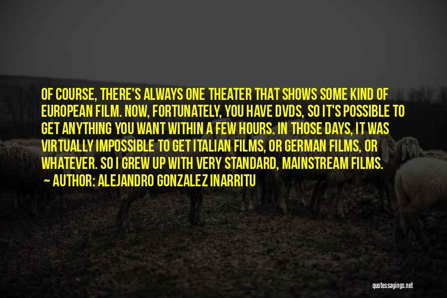 European Quotes By Alejandro Gonzalez Inarritu