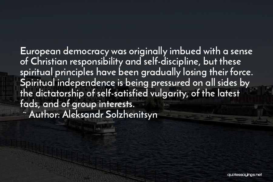 European Quotes By Aleksandr Solzhenitsyn