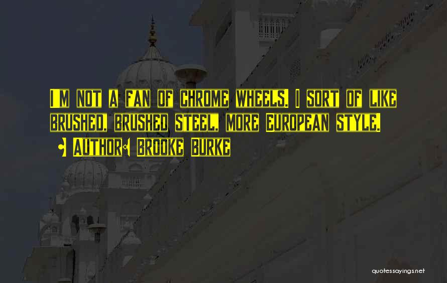 European Quotes By Brooke Burke