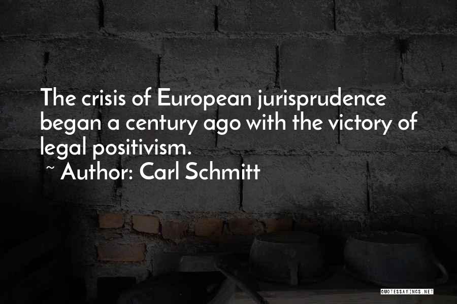European Quotes By Carl Schmitt