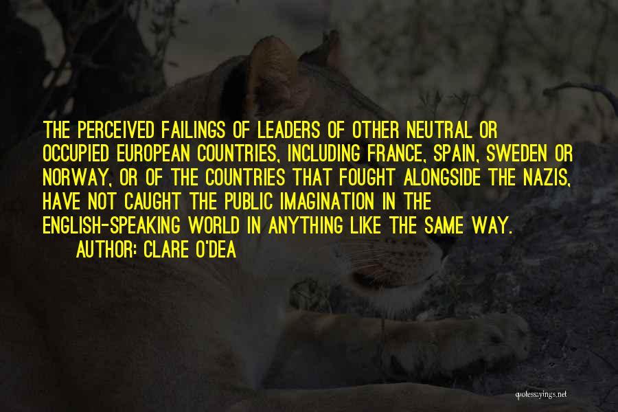 European Quotes By Clare O'Dea