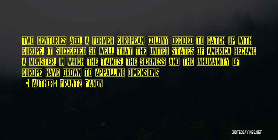European Quotes By Frantz Fanon