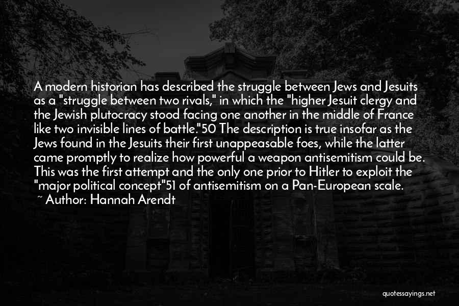 European Quotes By Hannah Arendt