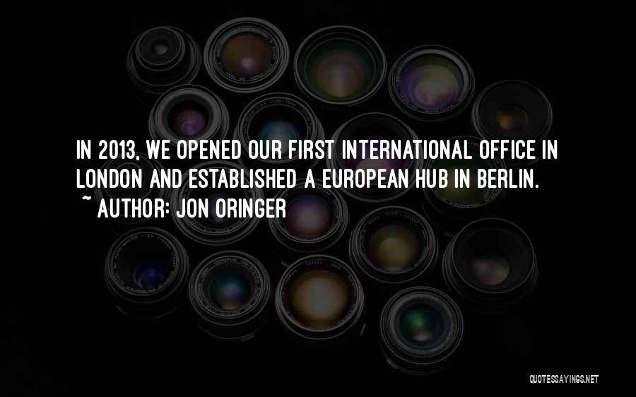 European Quotes By Jon Oringer