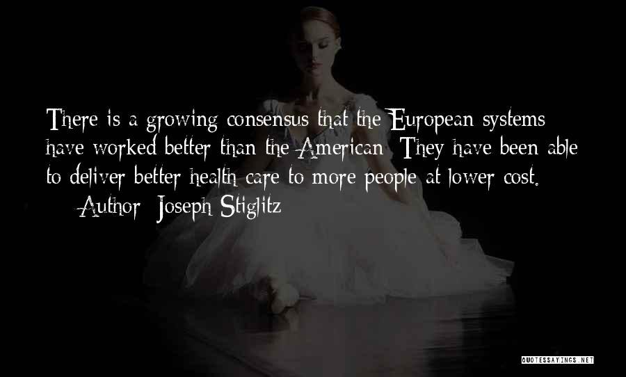 European Quotes By Joseph Stiglitz