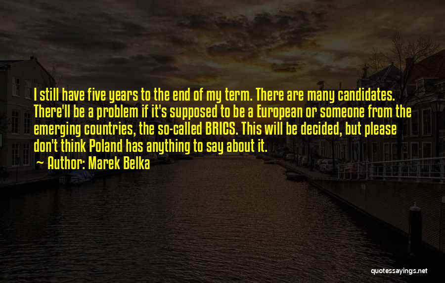 European Quotes By Marek Belka