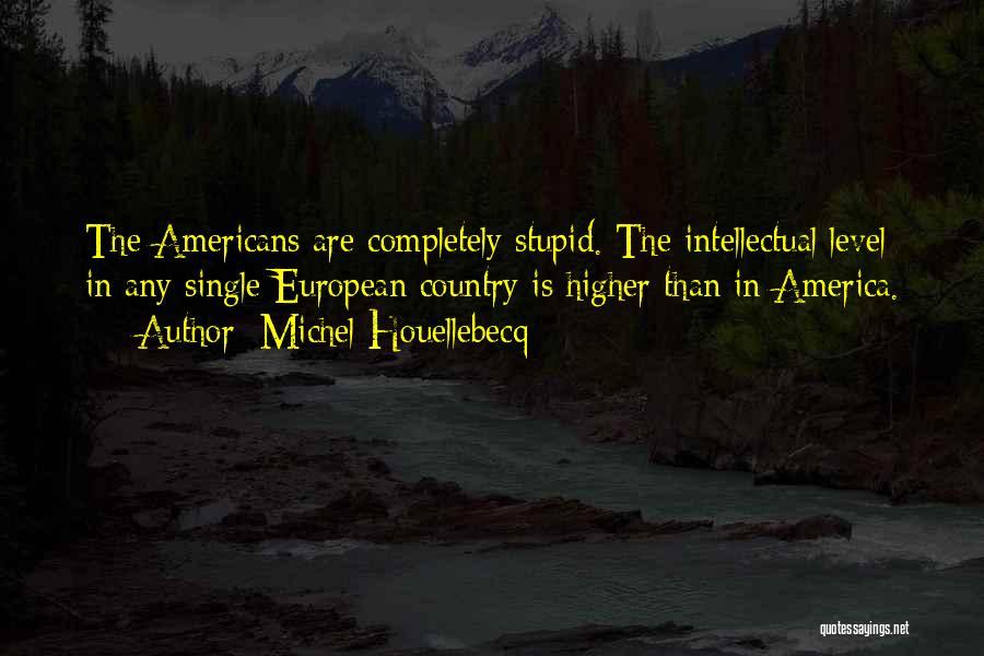 European Quotes By Michel Houellebecq