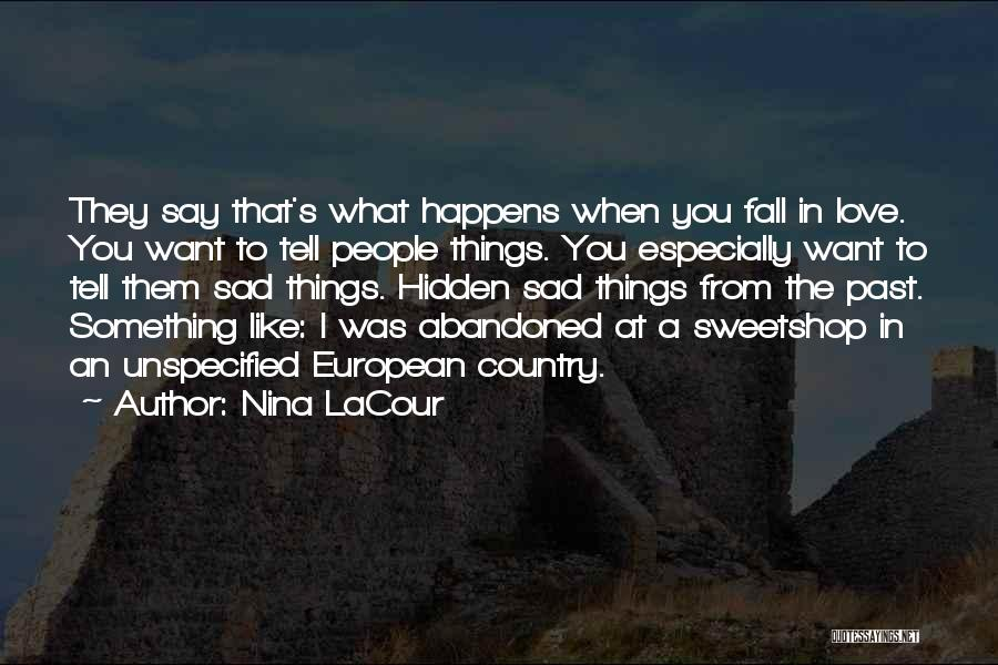European Quotes By Nina LaCour
