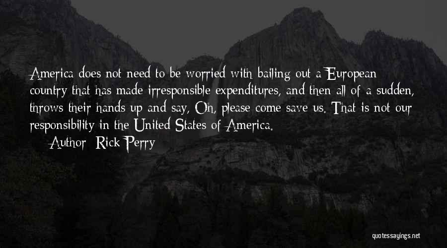 European Quotes By Rick Perry