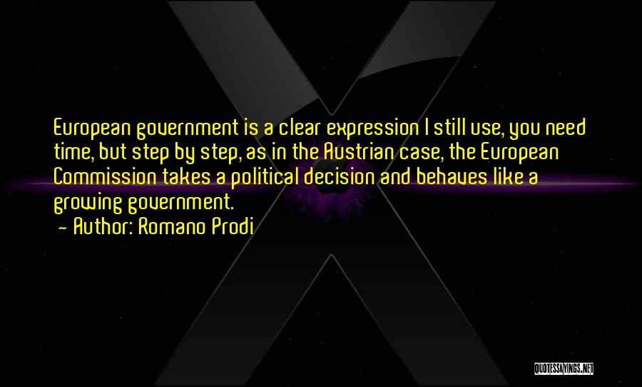 European Quotes By Romano Prodi