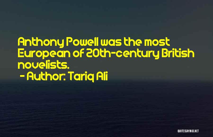 European Quotes By Tariq Ali