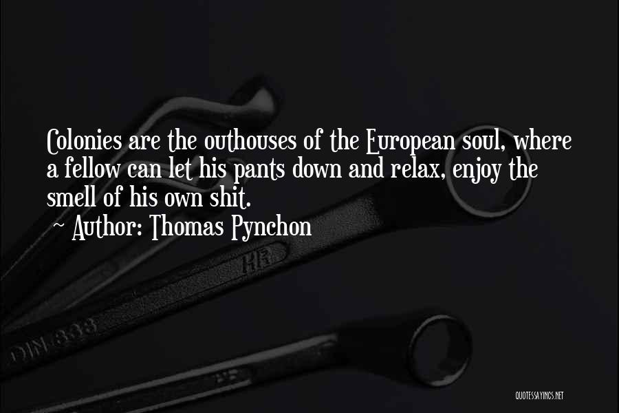 European Quotes By Thomas Pynchon