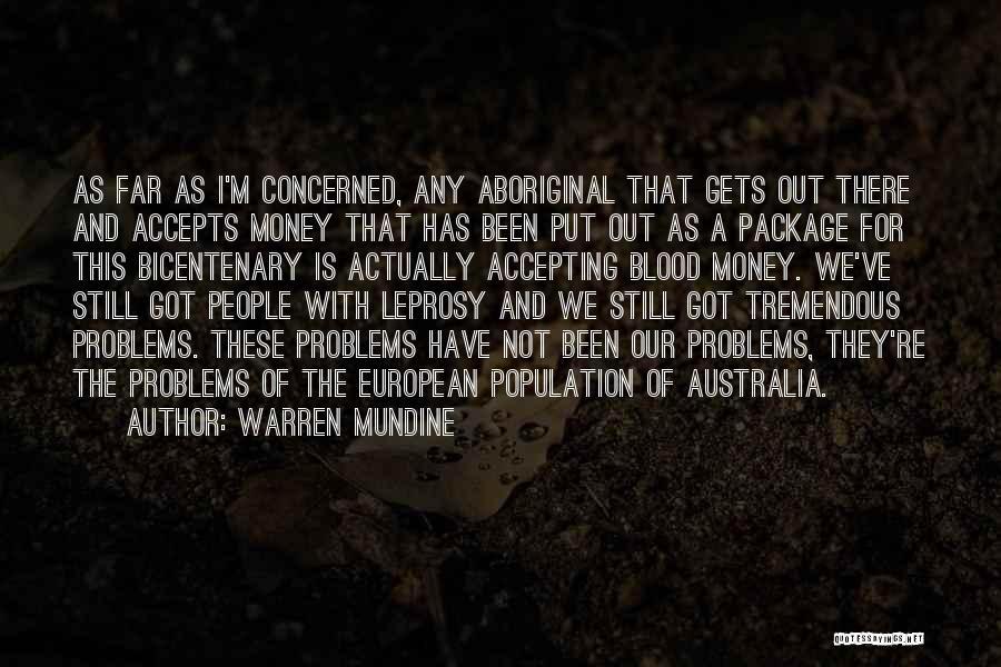 European Quotes By Warren Mundine