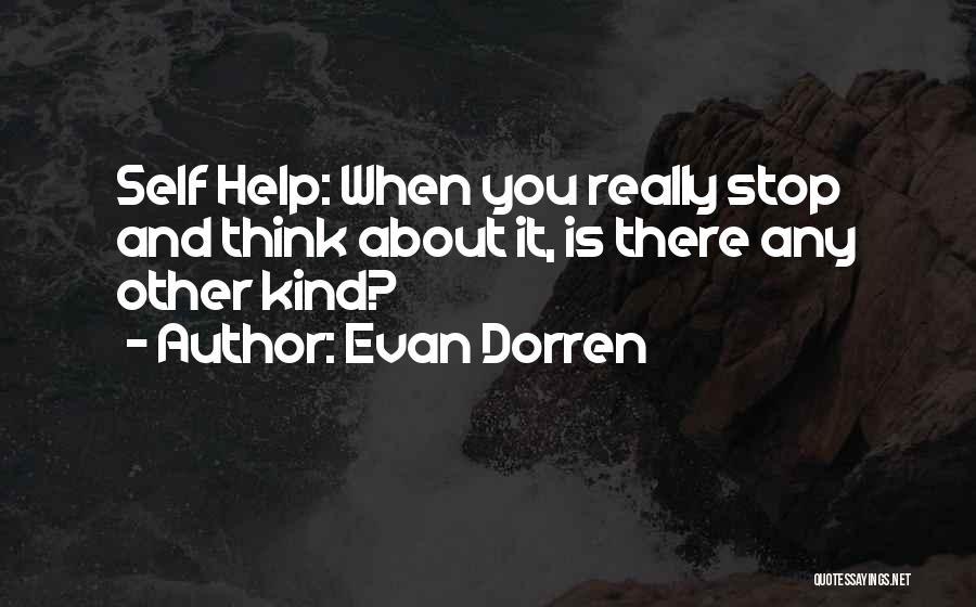 Evan Dorren Quotes 1984589