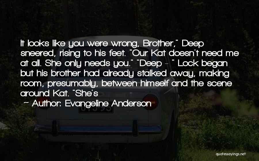 Evangeline Anderson Quotes 1009348