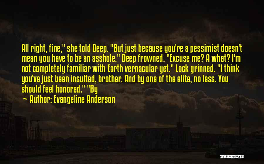 Evangeline Anderson Quotes 1265839