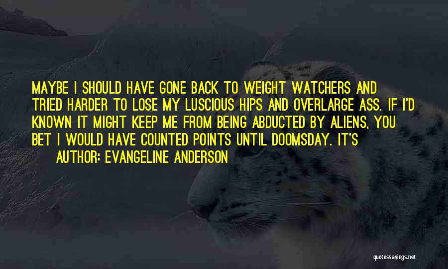 Evangeline Anderson Quotes 891355