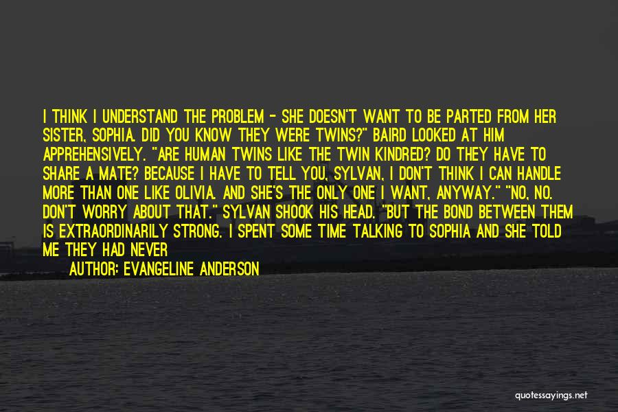 Evangeline Anderson Quotes 993293