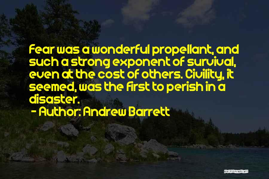 Even The Strong Quotes By Andrew Barrett