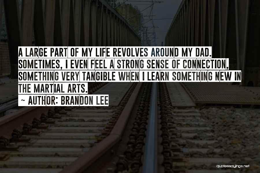 Even The Strong Quotes By Brandon Lee