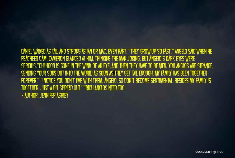 Even The Strong Quotes By Jennifer Ashley