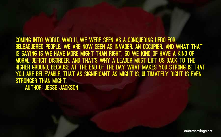 Even The Strong Quotes By Jesse Jackson