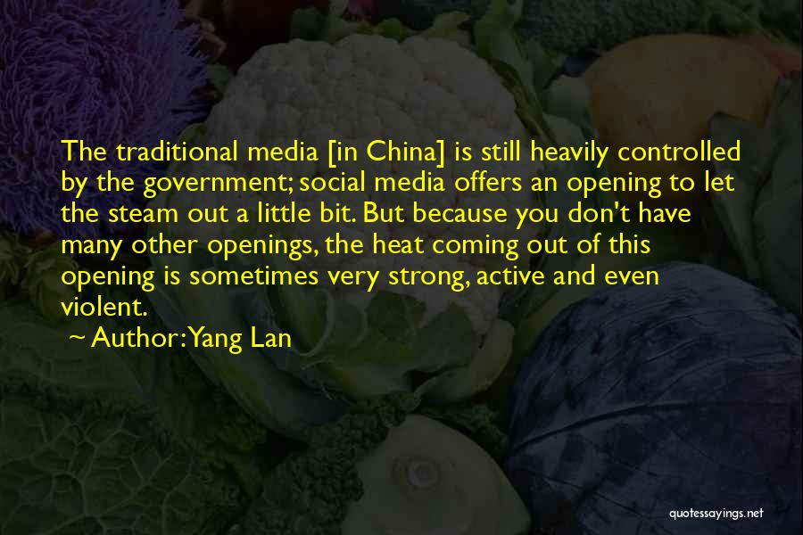 Even The Strong Quotes By Yang Lan