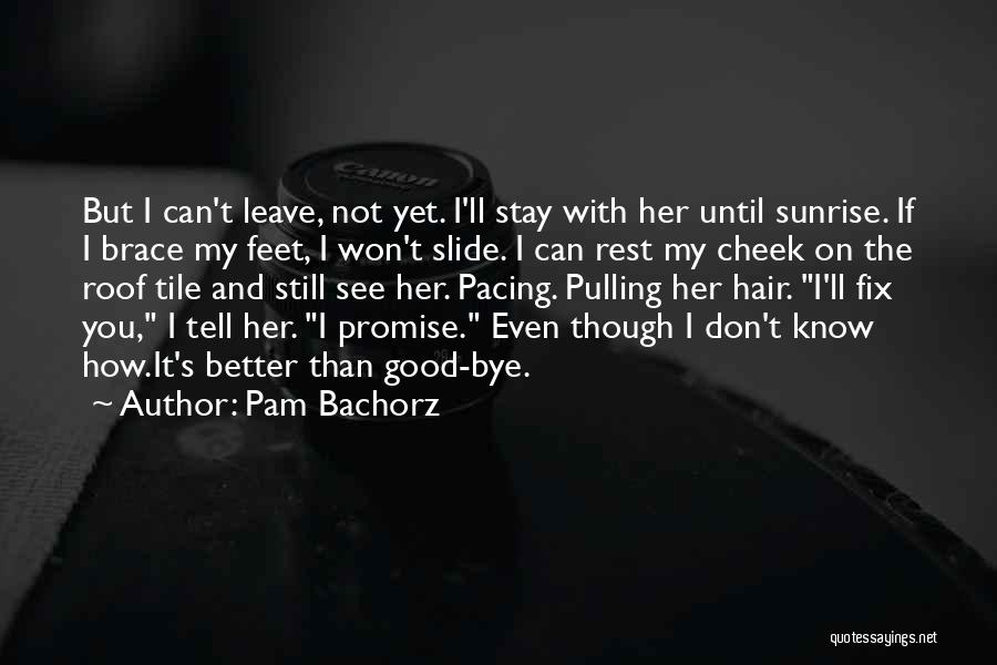 Even Though I Don't Know You Quotes By Pam Bachorz