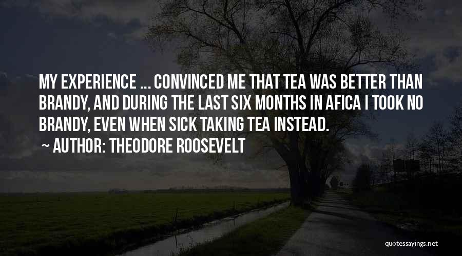 Even When I'm Sick Quotes By Theodore Roosevelt
