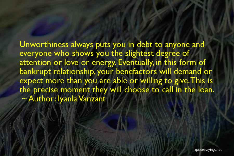 Eventually Love Quotes By Iyanla Vanzant