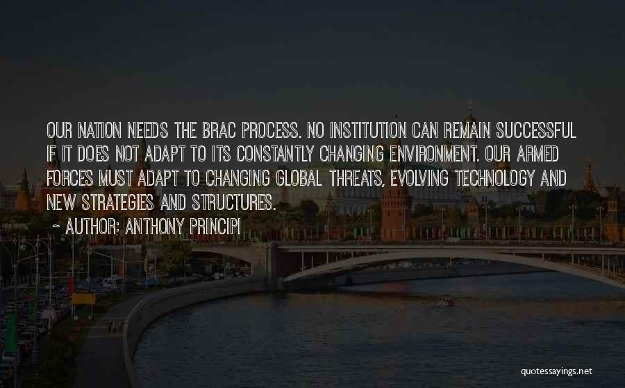 Ever Changing Technology Quotes By Anthony Principi