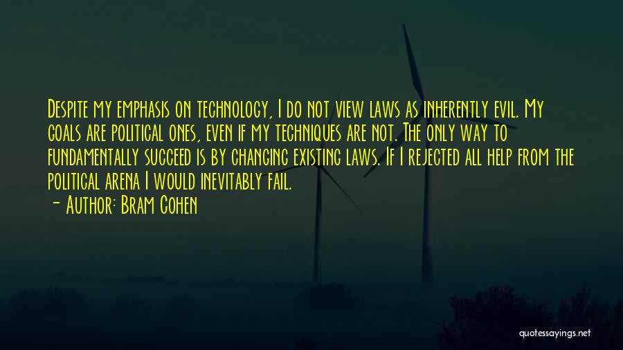 Ever Changing Technology Quotes By Bram Cohen
