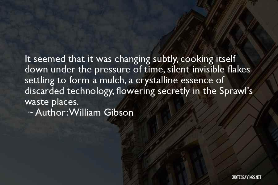 Ever Changing Technology Quotes By William Gibson