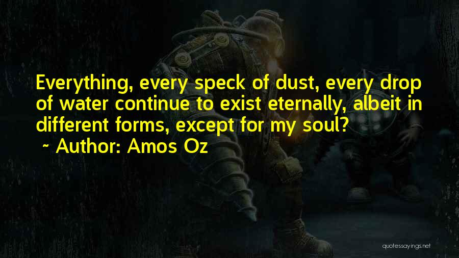 Every Drop Of Water Quotes By Amos Oz