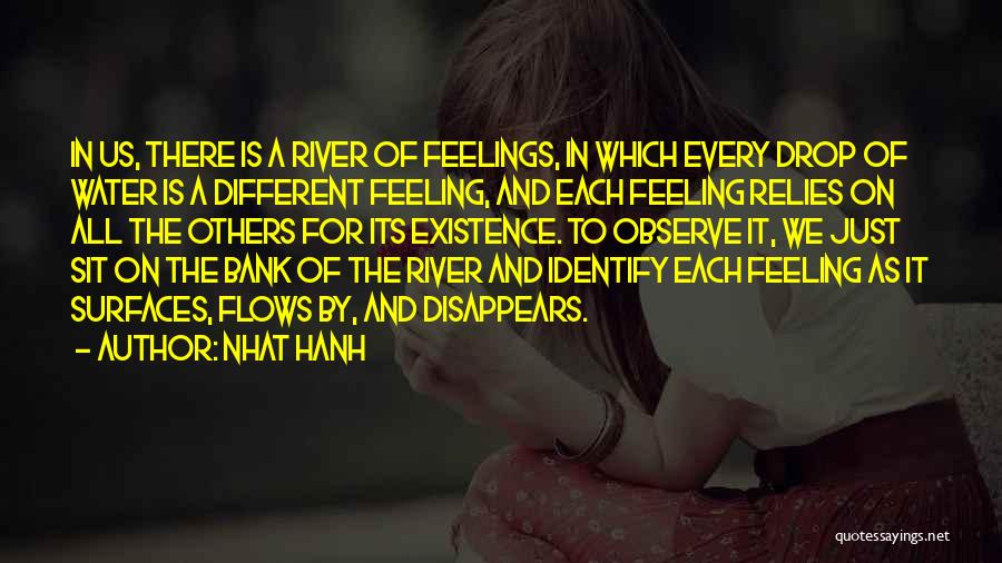 Every Drop Of Water Quotes By Nhat Hanh