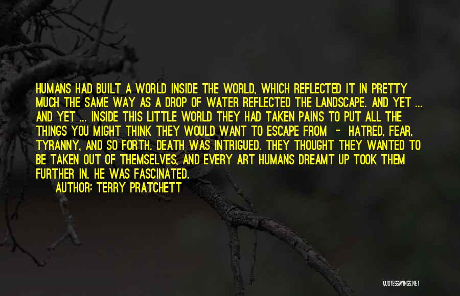 Every Drop Of Water Quotes By Terry Pratchett