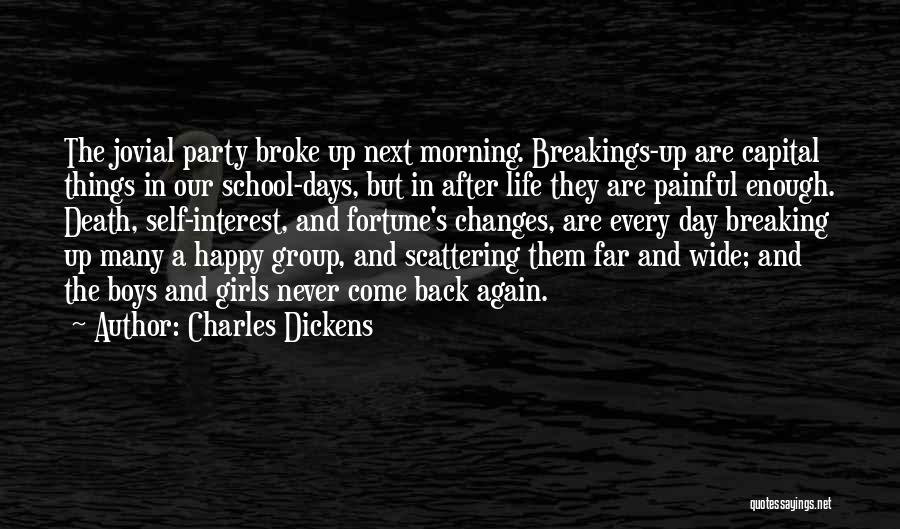 Every Girl Should Be Happy Quotes By Charles Dickens