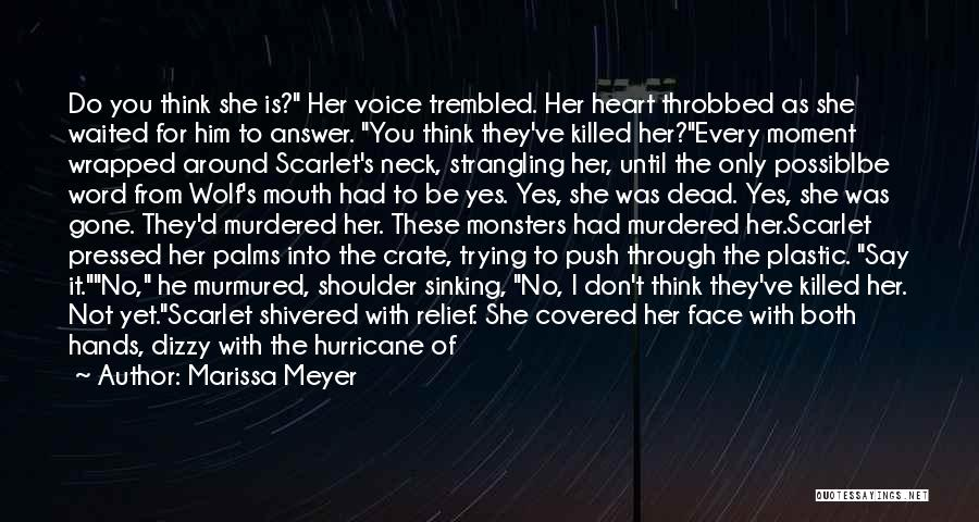 Every Moment I Think Of You Quotes By Marissa Meyer