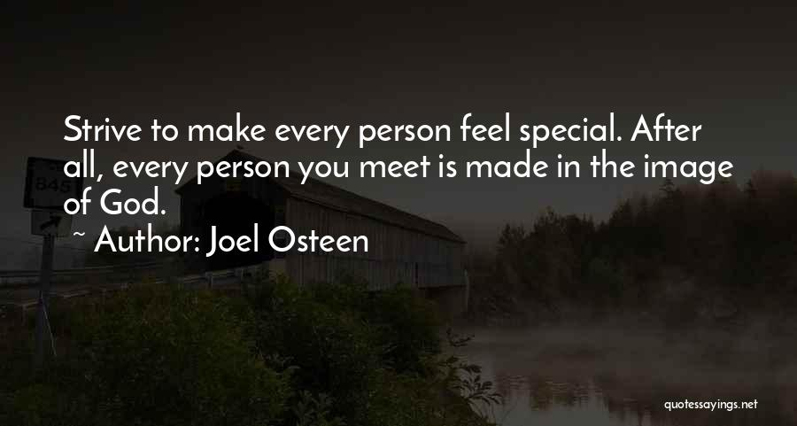 Every Person You Meet Quotes By Joel Osteen