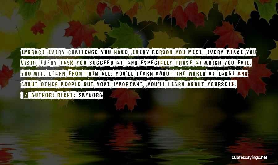 Every Person You Meet Quotes By Richie Sambora