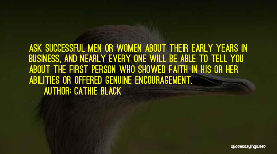 Every Successful Person Quotes By Cathie Black