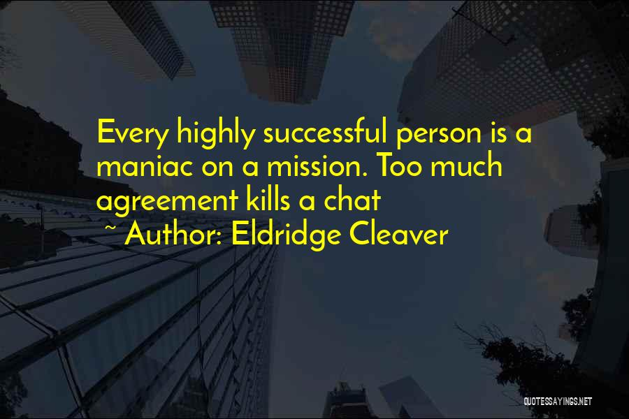 Every Successful Person Quotes By Eldridge Cleaver