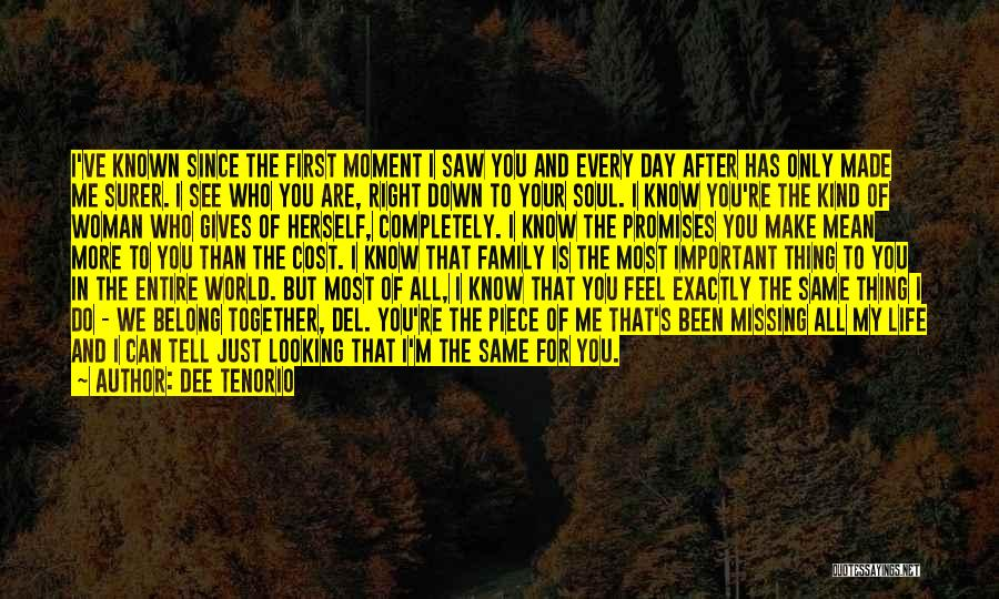 Every Woman Is Not The Same Quotes By Dee Tenorio