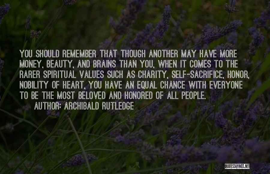 Everyone Has Their Own Beauty Quotes By Archibald Rutledge