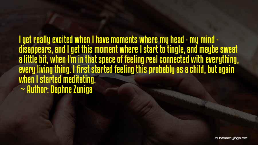 Everything Disappears Quotes By Daphne Zuniga