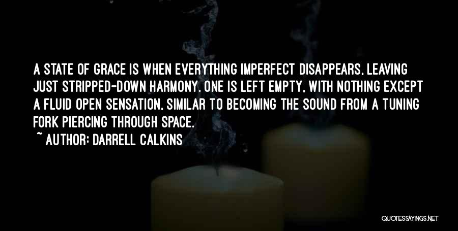 Everything Disappears Quotes By Darrell Calkins
