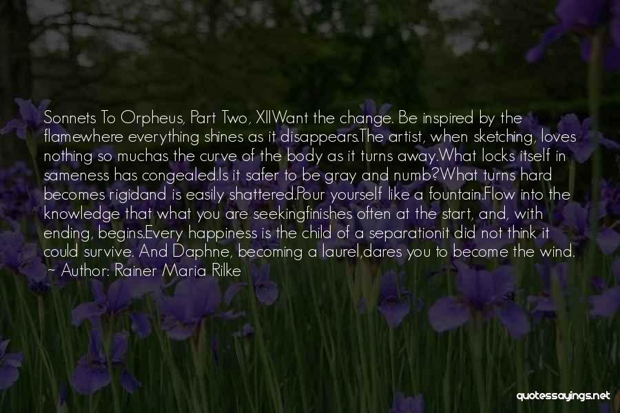 Everything Disappears Quotes By Rainer Maria Rilke